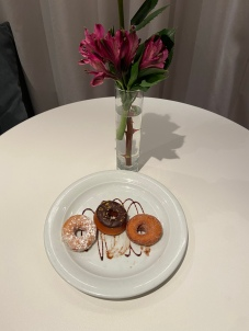 Complimentary in-room treats