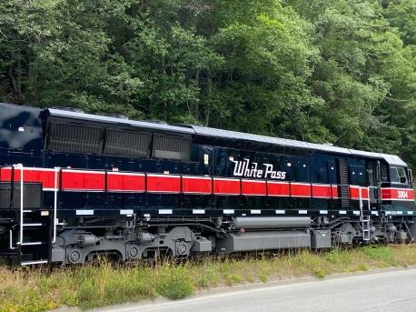 The Skagway Train