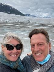 We're on a glacier
